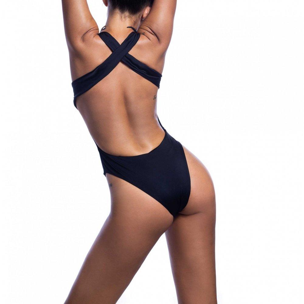 BLUΕPOINT Γυναικείο Μαγιό Ολόσωμο  με χιαστή πλάτη
