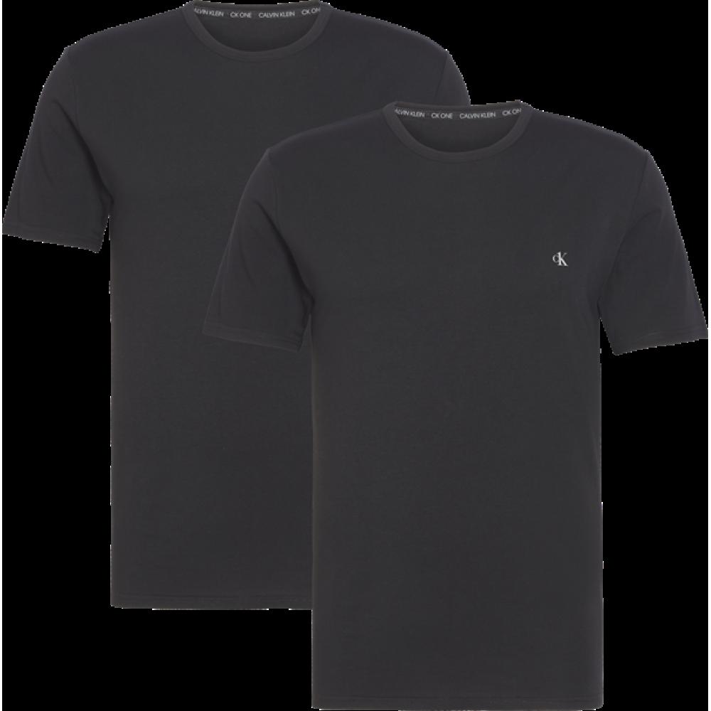Calvin Klein Ανδρικά T-Shirt  2 Pack Συσκευασία