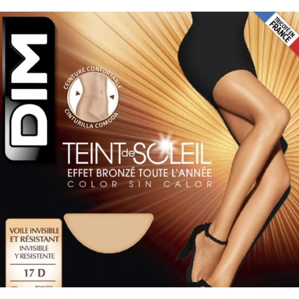 Γυναικείο Καλσόν Dim 17 den  Teint De Soleil
