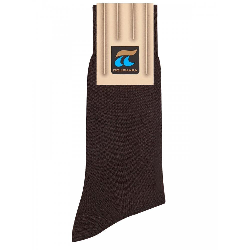 Pournara Ανδρική Κάλτσα  Μερσεριζέ - Κλασική για καθημερινή χρήση