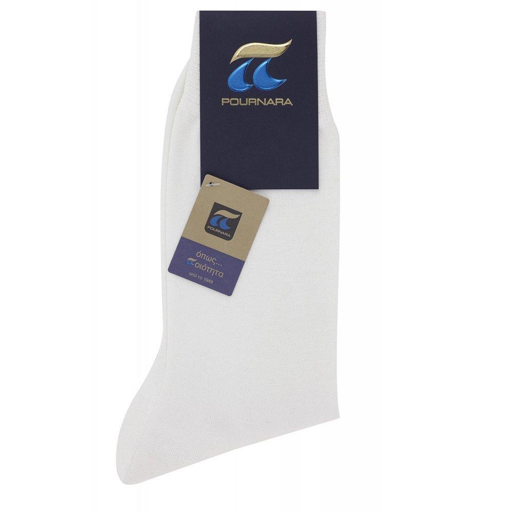 Pournara Ανδρική Κάλτσα 100% βαμβάκι Μερσεριζέ - Κλασική