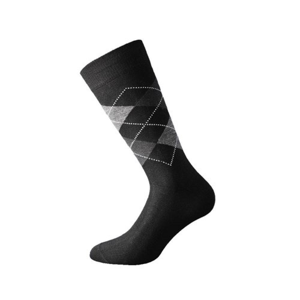 Walk Ανδρικές Κάλτσες Μάλλινες με σχέδιο ρόμβους