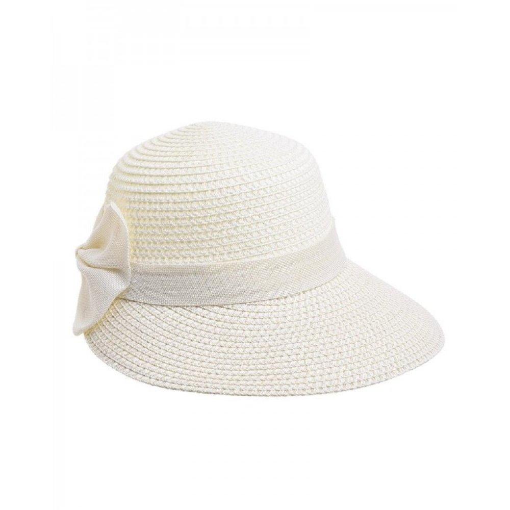 Γυναικείο Καπέλο Ψάθινο Εκρού Ble