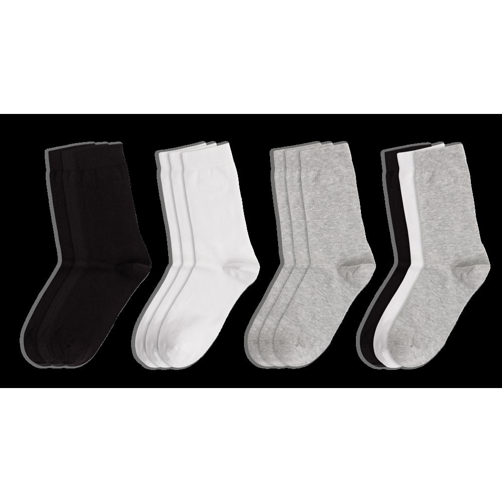ME-WE Γυναικείες Κάλτσες Μονόχρωμες οικονομική συσκευασία με 3 ζευγάρια