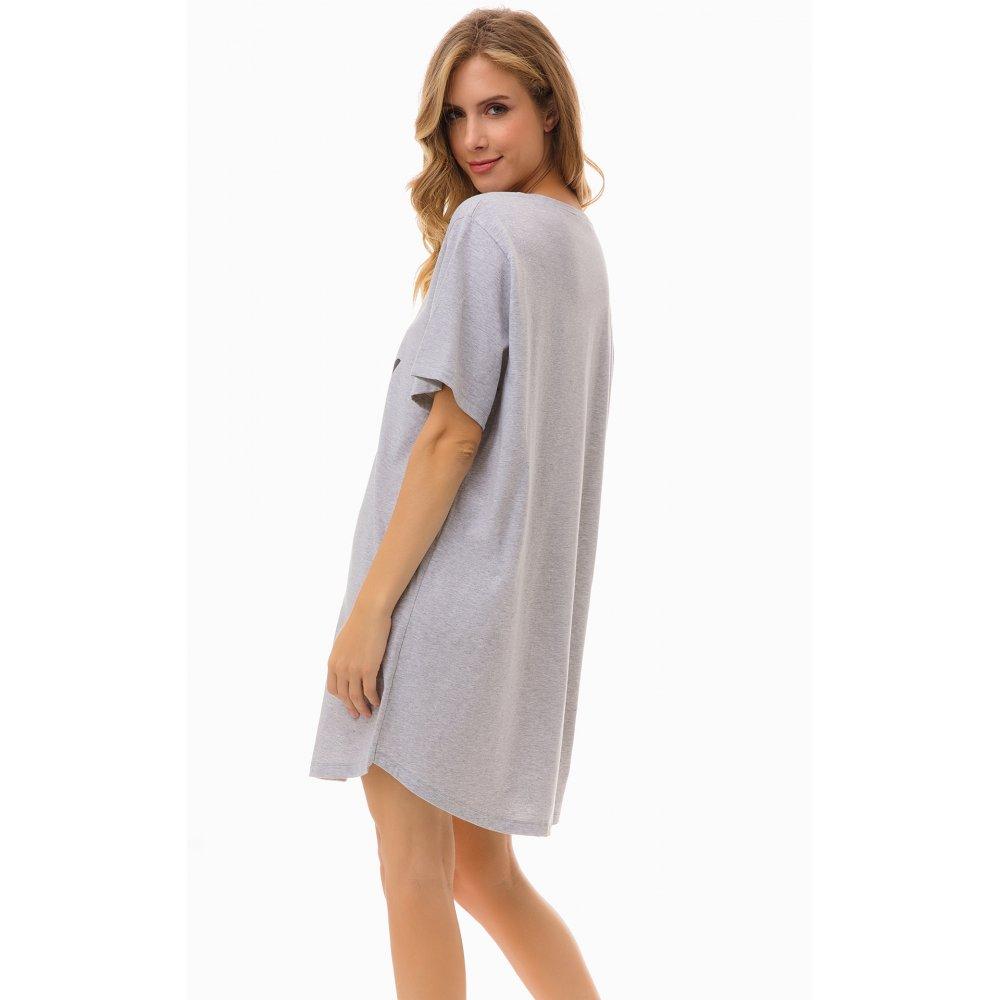 Γυναικείο Φόρεμα T-Shirt MINERVA με Σχέδιο FREDDO