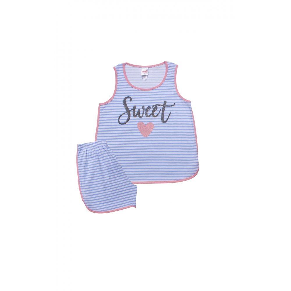 Παιδική Πυτζάμα Για Κορίτσι MINERVA Sweet Love