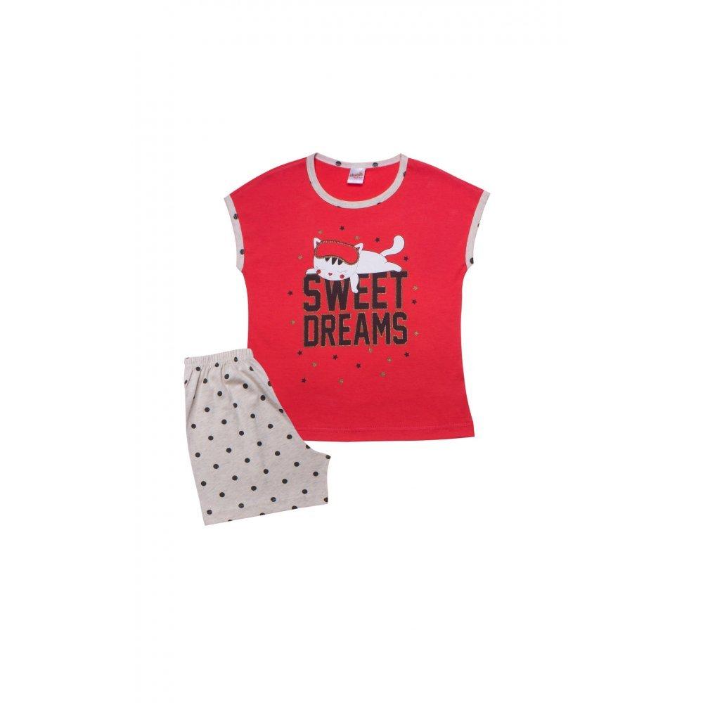 Παιδική Πυτζάμα Με Σορτσάκι Minerva Sweet Dreams