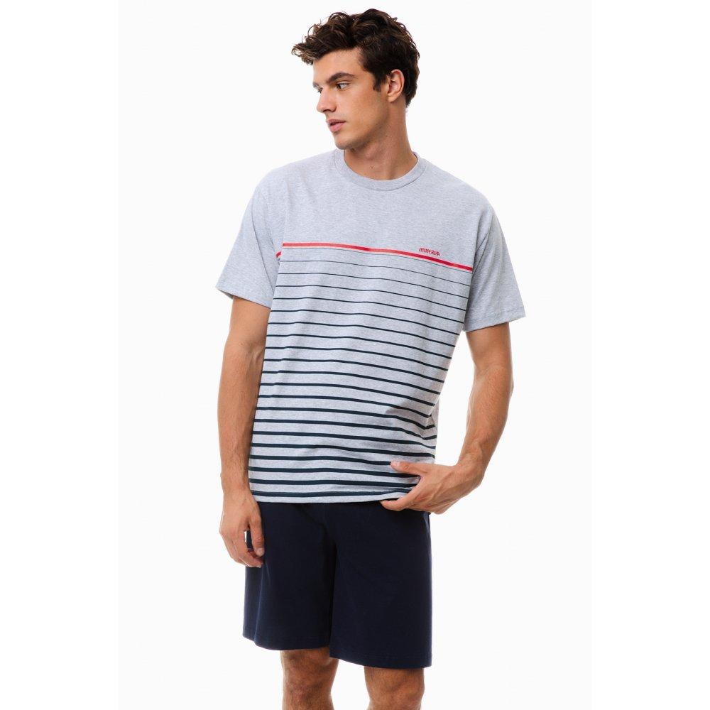 Ανδρική Πυτζάμα MINERVA Gradi Stripes