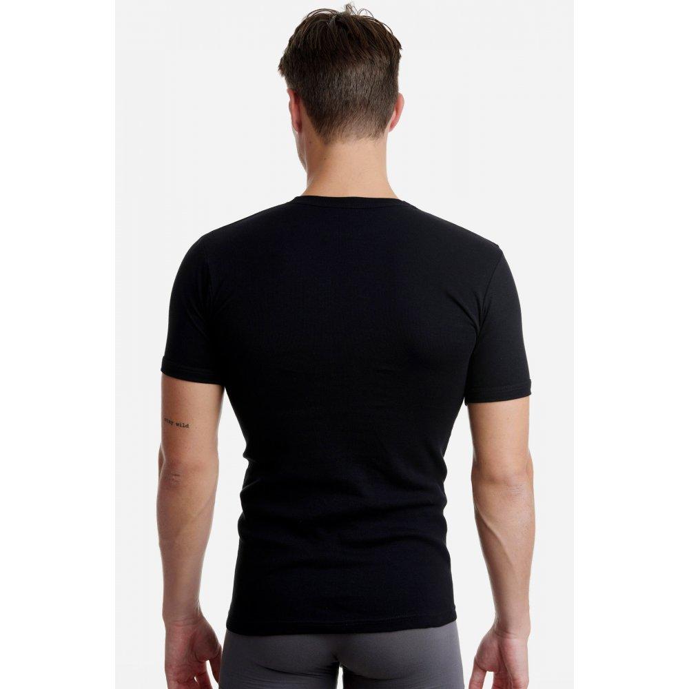 Ανδρικό T-Shirt Walk με Κλειστή Λαιμόκοψη