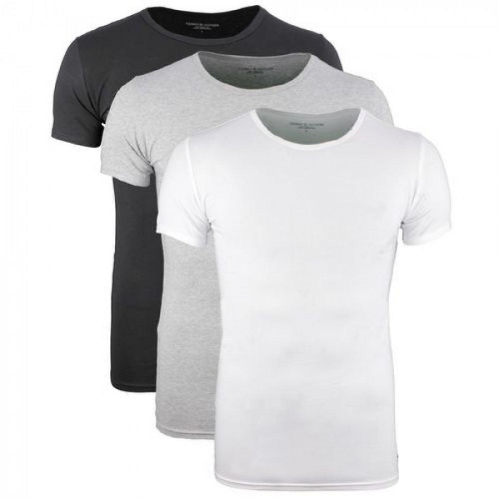 Ανδρικά T-Shirts Tommy Hilfiger Σε Οικονομική Συσκευασία 3 Τεμαχίων