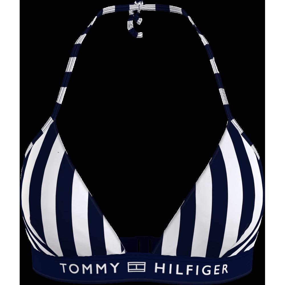 Γυναικείο Τρίγωνο Μαγιό Ριγέ Tommy Hilfiger